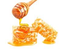 Honingraat en Dipper stock afbeelding