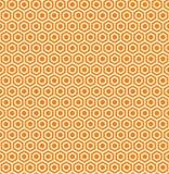 Honingraat naadloze illustratie Stock Fotografie