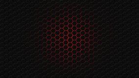 Honingraat van zeshoeken wordt gemaakt die Royalty-vrije Stock Foto