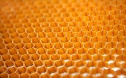Honingraatstructuur voor de ruimtevaartindustrie stock afbeeldingen