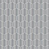 Honingraten voor honings geometrisch naadloos patroon Royalty-vrije Stock Afbeelding