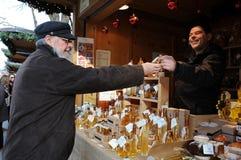 Honingsbrandewijn Royalty-vrije Stock Foto's