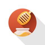 Honingspictogram Stock Foto