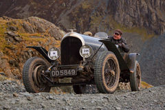 The Honister Hill Climb Royalty Free Stock Photography