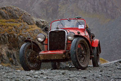 The Honister Hill Climb Royalty Free Stock Photos