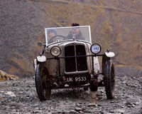 The Honister Hill Climb Royalty Free Stock Images