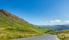 Honister pass in Lake District Royalty Free Stock Image