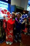 Honiya Girls in Honiya Store Stock Photo