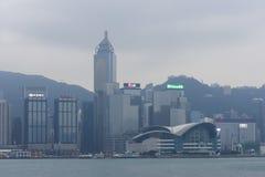 Honk Kong convention center budynek fotografia royalty free