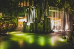 Honk Kong November 2018 - Nan Lian Garden parkerar royaltyfria foton