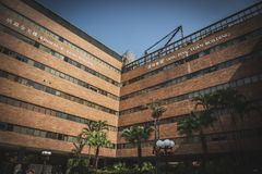 Honk Kong, novembre 2018 - edificio di Choi Kai Yau fotografia stock libera da diritti