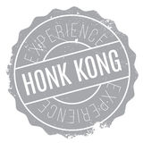 Honk Kong rubber stamp Royalty Free Stock Photos