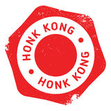 Honk Kong rubber stamp Royalty Free Stock Photo