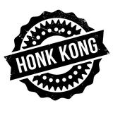 Honk Kong rubber stamp Stock Photo