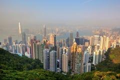 Honk Kong Skyline Stock Image
