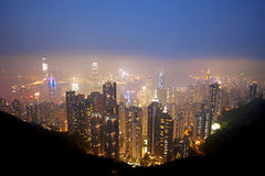 Honk Kong Skyline Royalty Free Stock Image