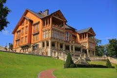 Honka club house Royalty Free Stock Photo