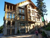 Honka, huis van de vroegere president van de Oekraïne stock afbeelding
