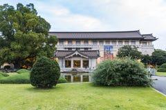 Honkan japanskt galleri på Tokyo det nationella museet Arkivfoto