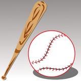 Honkbal royalty-vrije illustratie
