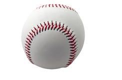 Honkbal dat op wit wordt geïsoleerdl stock afbeelding