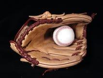 Honkbal en handschoen Royalty-vrije Stock Afbeeldingen