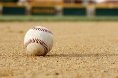 Honkbal infield Stock Afbeeldingen