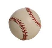 Honkbal over Witte Achtergrond Royalty-vrije Stock Foto's
