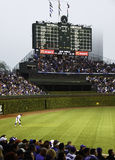 Honkbal - Wrigley het Historische Scorebord van het Gebied Stock Foto's