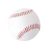 Honkbalbal op witte achtergrond royalty-vrije stock afbeelding