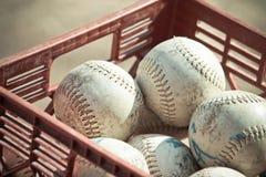 Honkbalballen Stock Afbeelding