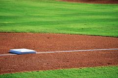 Honkbalbasis Stock Afbeelding