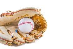 Honkbalhandschoenen Stock Afbeelding