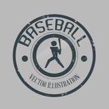 Honkbalontwerp Stock Afbeelding