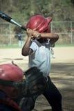 Honkbalspel Royalty-vrije Stock Afbeelding