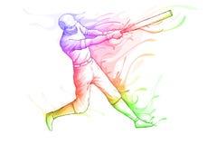 Honkbalspeler Royalty-vrije Stock Afbeelding