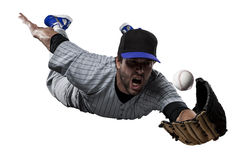 Honkbalspeler Stock Foto's