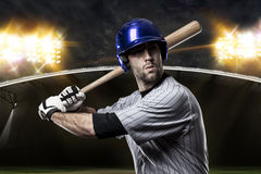 Honkbalspeler Stock Fotografie
