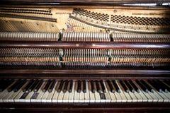 Honky Tonk-Klavier Lizenzfreies Stockbild