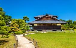 Honmaru pałac przy Nijo kasztelem w Kyoto obrazy royalty free