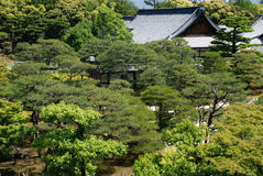 Honmaru Palace in Kyoto Royalty Free Stock Photography