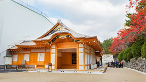 Honmaru Palace at Nagoya castle Royalty Free Stock Photo