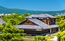Honmaru Palace at Nijo Castle in Kyoto stock photo