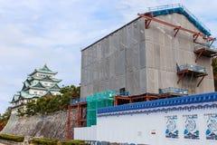 Honmarupaleis bij het kasteel van Nagoya stock afbeelding