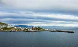 Honningsvag,挪威 库存照片