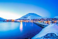 Honningsvag Στοκ φωτογραφία με δικαίωμα ελεύθερης χρήσης