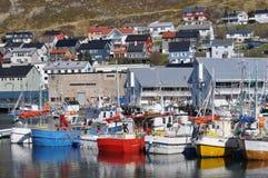 Honningsvag, el en de Europa Fotos de archivo libres de regalías