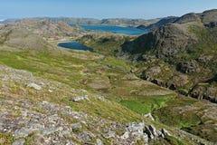 Honningsvag en Noruega Fotos de archivo