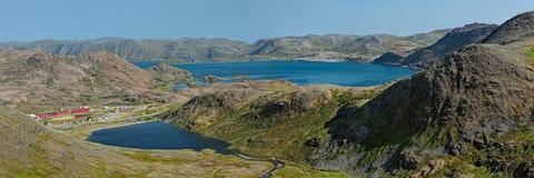Honningsvag en Noruega Imagen de archivo libre de regalías