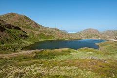 Honningsvag en Norvège Photos libres de droits